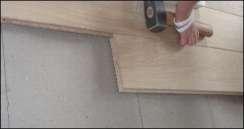 montage af planker