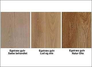 olie behandling af planke og trægulve